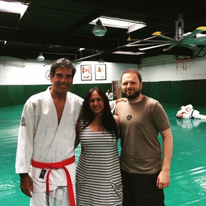 LA 2015 July Gracie Academy with Rorion