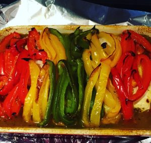 PlumCooks Chicken and Bell peppers