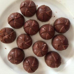 Chocolate circles