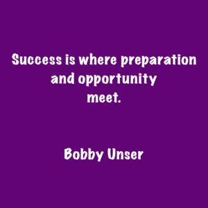 Success quotes Bobby Unser