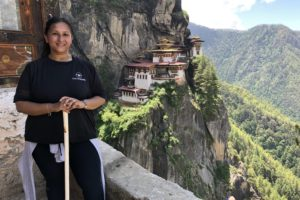 Hiking to Tiger's Nest Monastery in Bhutan