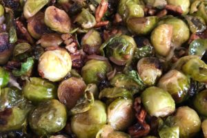 Brussels Sprouts with Pecans